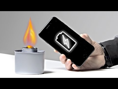 Thumbnail: How To Charge Your Phone With Fire!