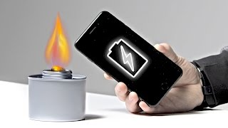 How To Charge Your Phone With Fire!
