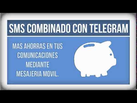 PRECIOS MENSAJE COMBINADO SMS TELEGRAM