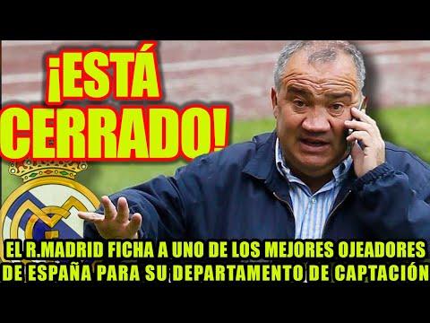 El R.Madrid ficha a uno de los mejores ojeadores de España para su departamento de captación