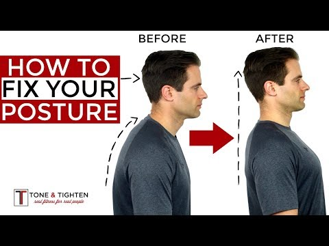 How To Correct Your Posture – 5 Home Exercises To Fix Your Posture