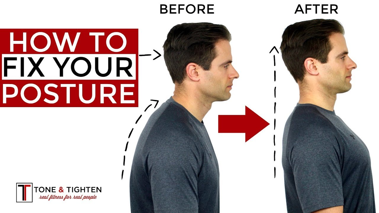 Correct Your Posture With This Tip-[Video]