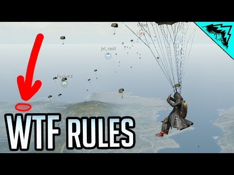 Care Package Zone - PUBG WTF RULES (PlayerUnknown's Battlegrounds)