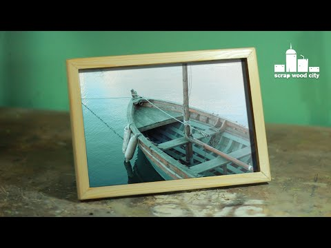 How to make a simple picture frame out of wood