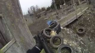 Gopro Airsoft: Frontline Action Capture the Flag Village #3