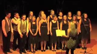 NLA chamber choir, Livin on a prayer by bonjovi, acapella with beatboxing!