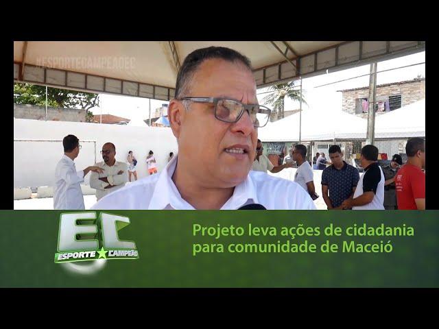 Projeto leva ações de cidadania para moradores da Comunidade São Sebastião