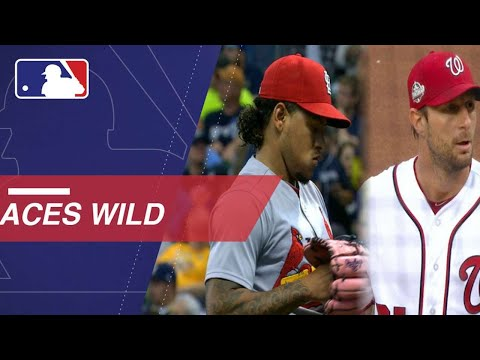 Max Scherzer and Carlos Martinez toss wacky wild pitches on the same night