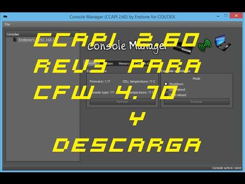 CCAPI 2 60 rev3+DESCARGA   Por fin hacks en CFW 4 70