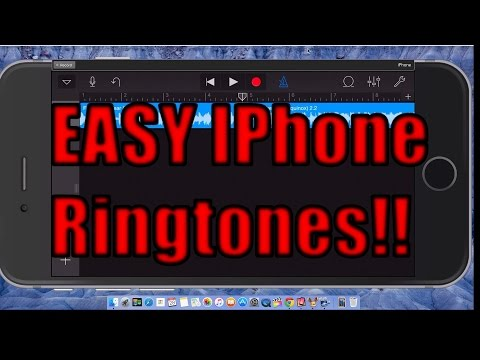 How to make Iphone ringtones with Garageband no computer required