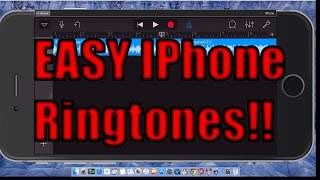 I show you how can make your own ringtones with music that have purchased from itunes or exist on iphone. this video is more for iphone 6 a...