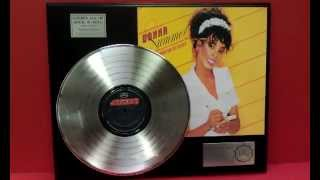 Donna Summer She Works Hard For The Money Platinum LP Record