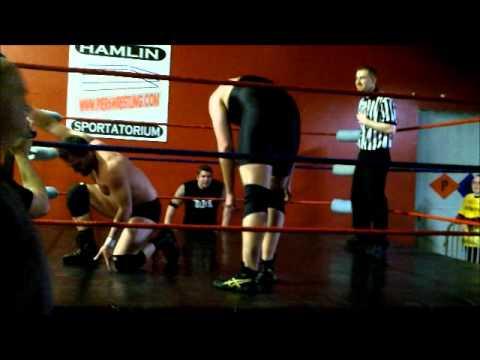 Pier 6 Wrestling  Matt Milan vs Andrew Davis