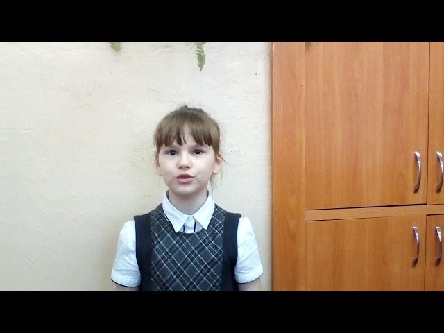 Изображение предпросмотра прочтения – РахмаиловаКсения читает произведение «Считалка» (Русский фольклор )