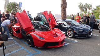 Cars and Coffee In Los Angeles (Aka Sunset GT) And More Car Spotting!