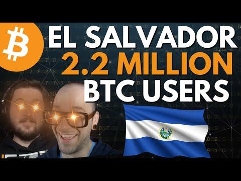 More people using Bitcoin than Banks in El Salvador