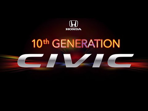 The all-new 2016 Honda Civic Unveil