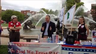Shane Schoeller Speaks at Kansas City Tea Party Part 2