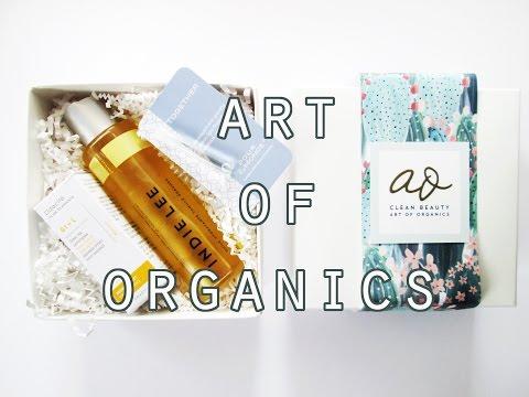 Art of Organics January Box: Gratitude // Cruelty Free, Organic, Luxury Subscription Box!