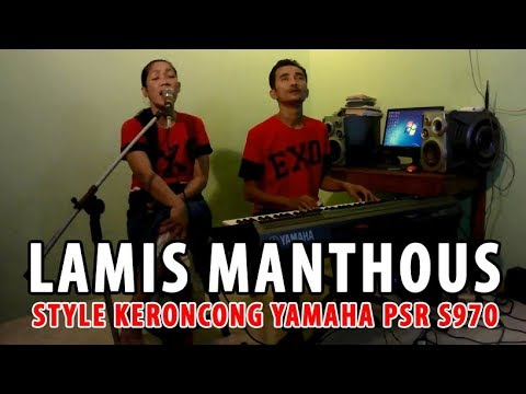Keroncong Lamis Manthous Style Yamaha PSR S970