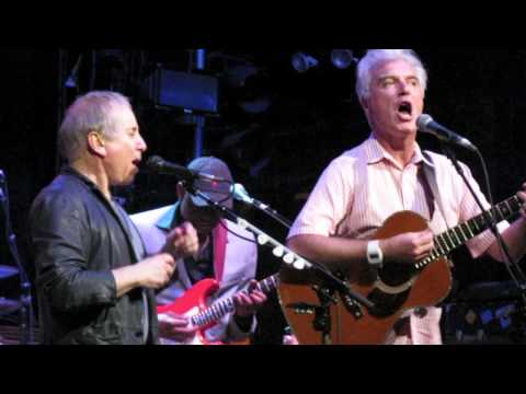 Paul Simon + David Byrne - Road To Nowhere - Live In NYC