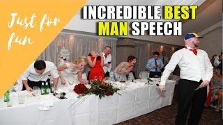 Best Man Speech | Rap to Fresh Prince | Wedding Speech
