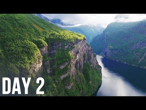 Fear on serpentine road Trollstigen, Atlantic Road, Geiranger - DAY 2 - SCANDINAVIA IN EIGHT DAYS