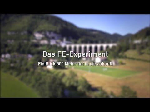 Experiment zur Lagerung radioaktiver Abfälle / Im Felslabor findet ein Testlauf für das Tiefenlager statt
