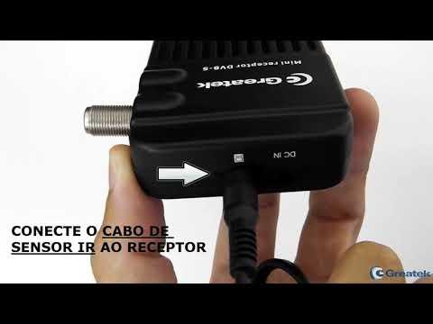 Mini Receptor Digital DVB-S Ultimate - GREATEK