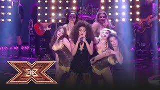 Finala X Factor 2018. Bella Santiago canta un mashup Beyonce