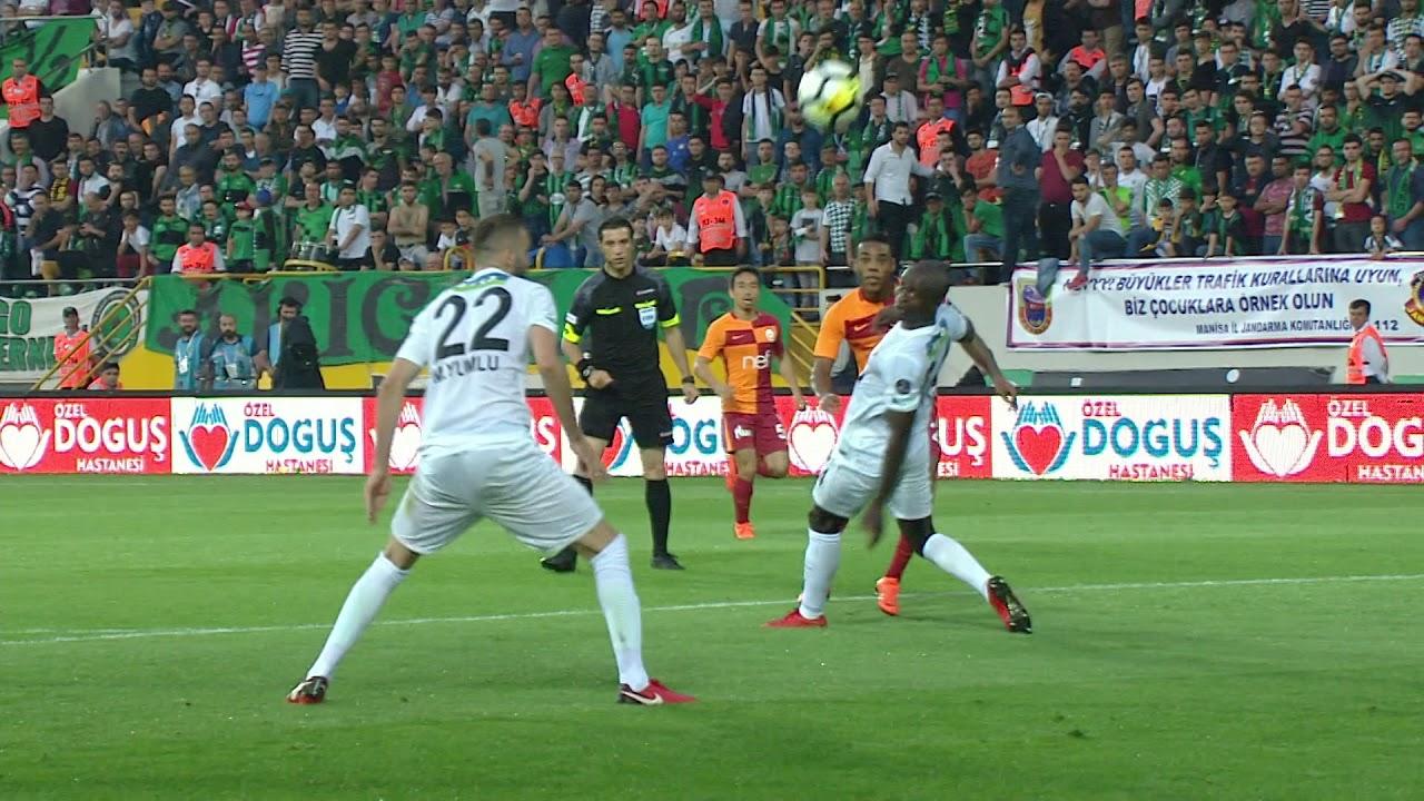 TM Akhisarspor 1 - 2 Galatasaray #Özet
