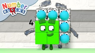 Numberblocks - Subtracting Down | Learn to Count