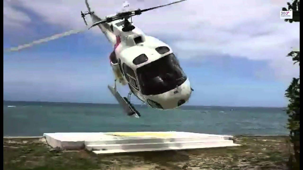 Вертолет на Фиджи