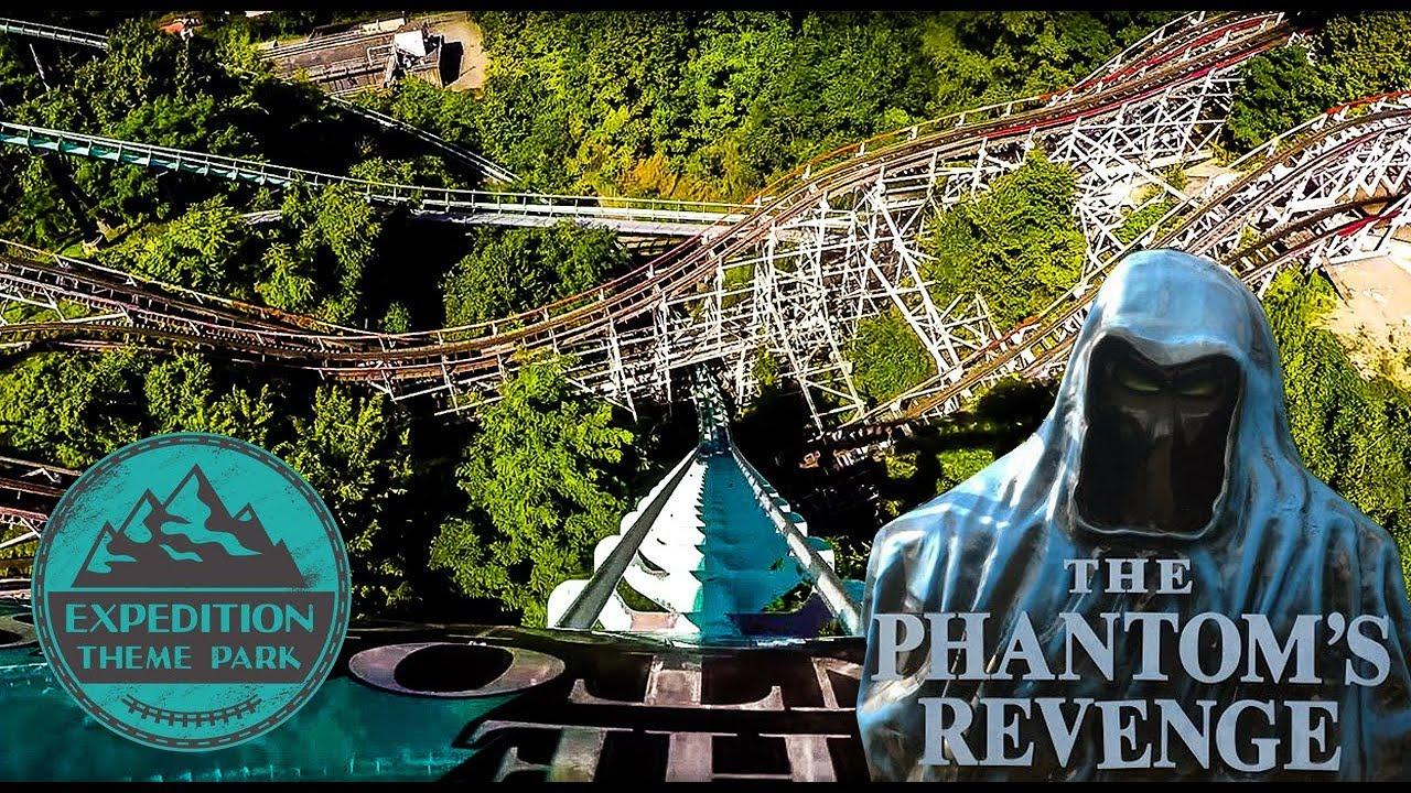 Steel Phantom and The Phantom's Revenge - Kennywood, USA | Expedition Theme  Park