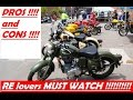 """MUST WATCH !!!!!! """" BEFORE CHOOSING ROYAL ENFIELD MOTORCYCLES  """" !!!!!!"""