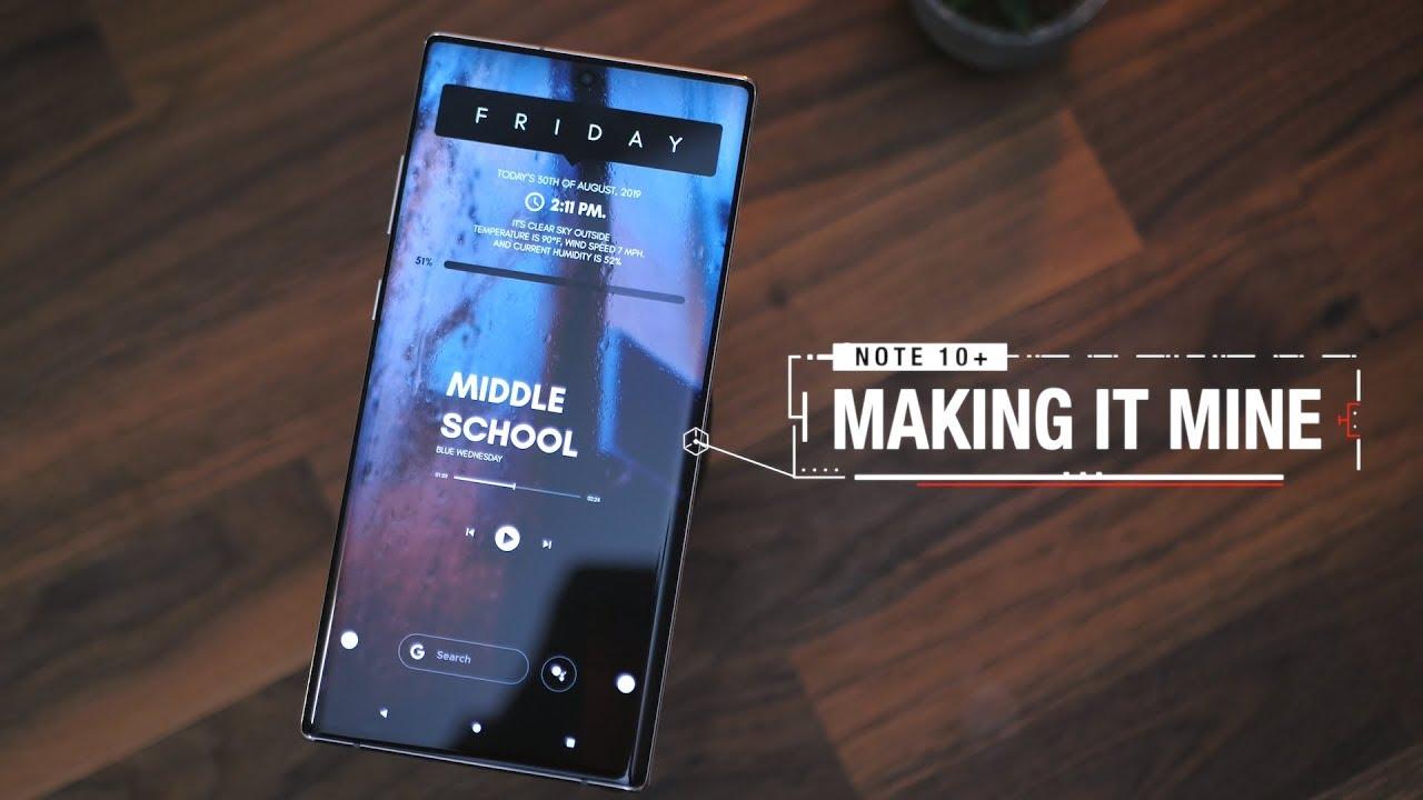 Samsung Galaxy Note 10: Cheat sheet