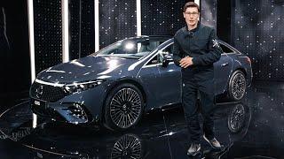 ПОЛНЫЙ КОСМОС! Обзор Mercedes-Benz EQS! Неужели лучше Мерседеса S-класса W223?!