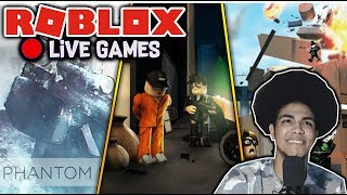⭐️🔴Roblox playing with fans Jailbreak, MM2, and More Live #134