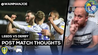 Leeds 2-0 Derby | THANK YOU MARCELO 🕵️♂️