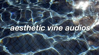 aesthetic vine edit audios