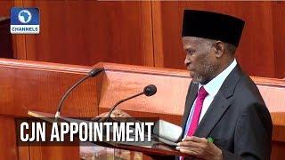 Senate Confirms Justice Ibrahim Tanko Mohammed
