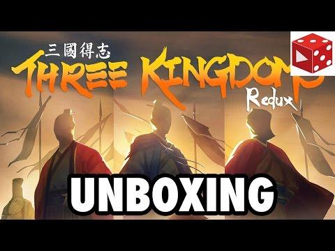 Three Kingdoms Redux - Unboxing deutsch