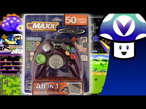 [Vinesauce] Vinny - Garbage Plug and Play: Vs. Maxx 50-in-1 Games