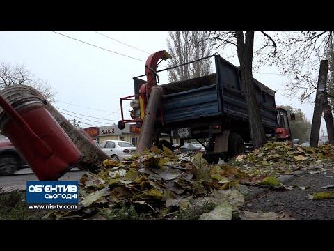 ТРК НІС-ТВ: Об'єктив 4 12 20 Місто придбало автономний пилосос для опалого листя