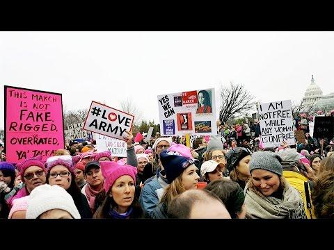 Women's March on Washington, D. C. & Chicago
