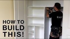 Closet Organizer Build