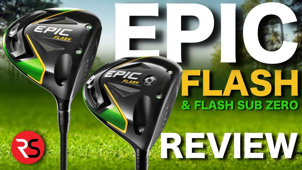 Golf Driver Reviews >> New Callaway Epic Flash Sub Zero Driver Reviews Rick Shiels