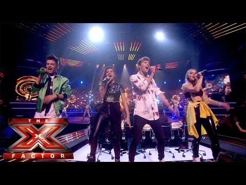 Only The Young sing Something About The Way You Look Tonight   Live Week 7   The X Factor UK 2014