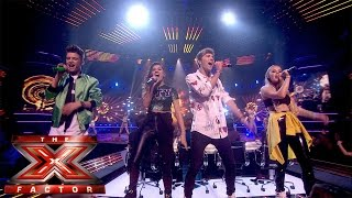 Only The Young sing Something About The Way You Look Tonight | Live Week 7 | The X Factor UK 2014