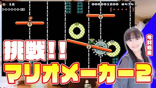 『スーパーマリオメーカー2』をプレイ! 今井麻美のニコニコSSG第92回【ファミ通】 今井麻美 検索動画 3